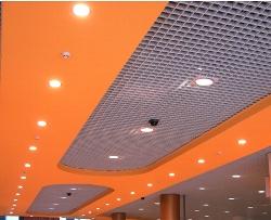 Подвесной потолок Грильято - 100х100 h50 b10